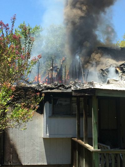 No one injured in house fire
