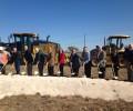 FM 1460 widening project breaks gound