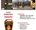 Fire Department hiring firefighters