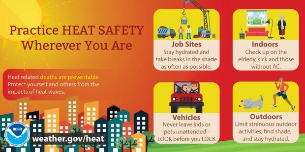 Heat advisories expected Sunday, Monday