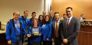 "Parks and Rec ""Pop Up Play Day"" team wins Innovations Award and receives the Rock Award"