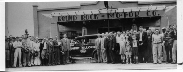 Round Rock historic materials added to online repository