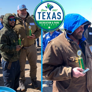PARD team members took two first place awards at the Texas Recreation and Parks Society annual Maintenance Rodeo