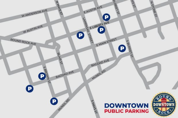 City Hall parking garage, South Lampasas Street closed May 29-June 1