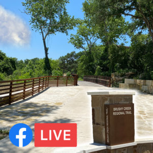 Mayor Morgan to host Brushy Creek Trail Extension Virtual Grand Opening Celebration