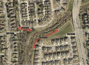 A portion of the Greater Lake Creek Trail will be temporarily closed August 10