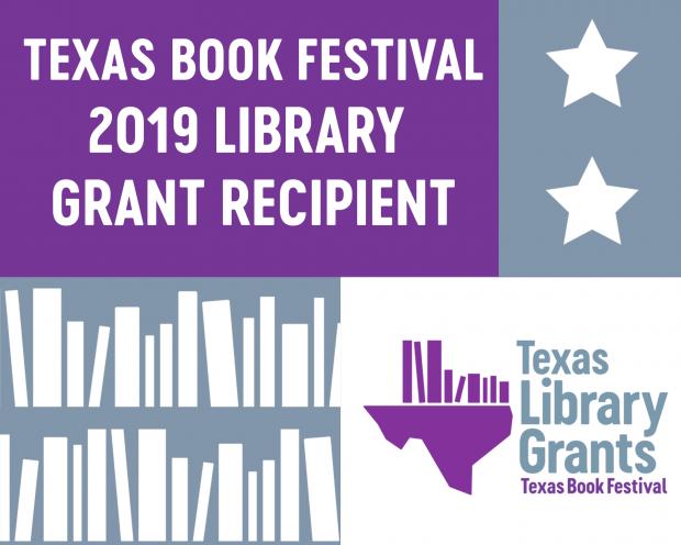 Library Awarded Texas Book Festival Grant
