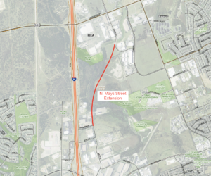 North Mays Street Extension now open