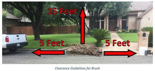 Round Rock residents have three ways to dispose of tree limbs