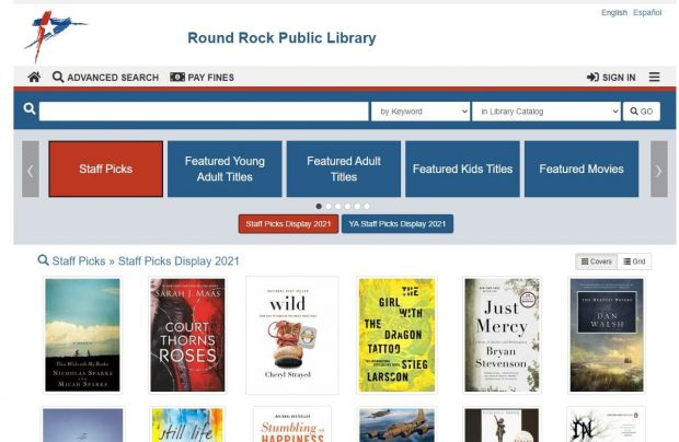 Library unveils new catalog system