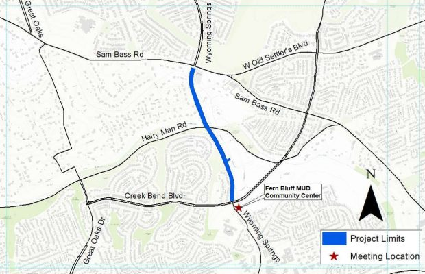 City hosts second open house for Wyoming Springs Drive project