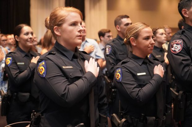 Now hiring Round Rock Police Cadets