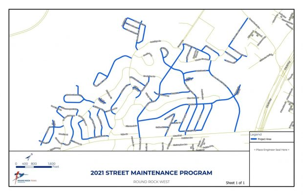 City Council approves street maintenance contract for South Creek, Round Rock West subdivisions